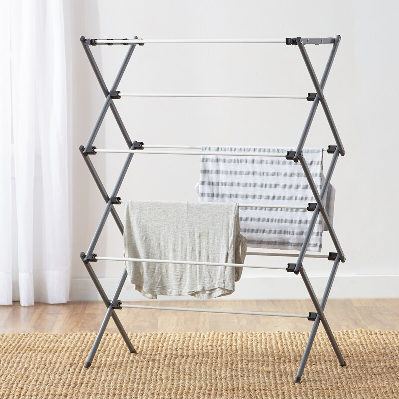 Wayfair Basics Folding Drying Rack