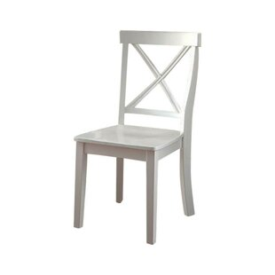 Highland Dunes Gaetan Wooden Armless Dining Chair (Set of 2)