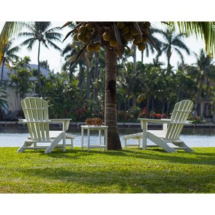 South Beach Ultimate Adirondack 3-Piece Set