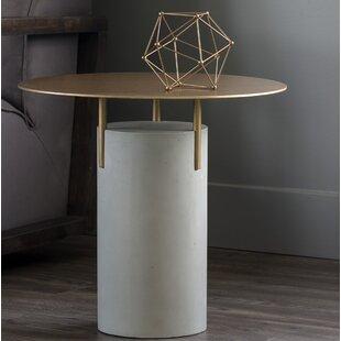 Dolores Concrete End Table
