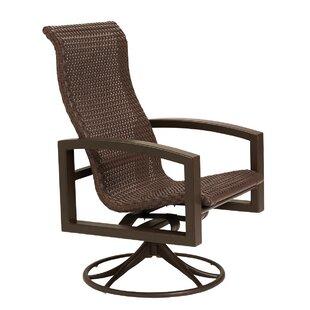 Lakeside Swivel Patio Dining Chair by Tropitone Savings