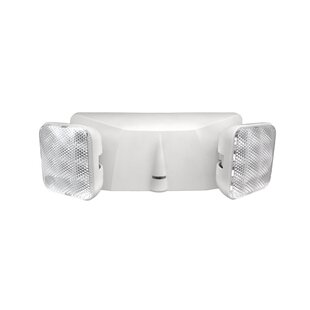 Commercial exit emergency lights youll love wayfair adjustable fixture led emergency light mozeypictures Choice Image