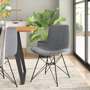 Abdera Upholstered Dining Chair by Wrough..