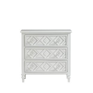 Diamond 3 Drawer Chest