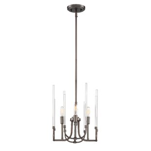Shellson 4-Light Candle Style Chandelier by Williston Forge