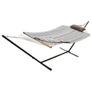 Mindi Cotton Hammock with Stand