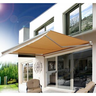8 ft. W x 7 ft. D Retractable Patio Awnin..