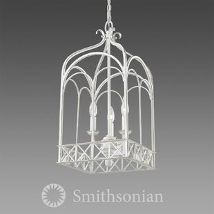 August Grove Bryes 3-Light Lantern Pendant