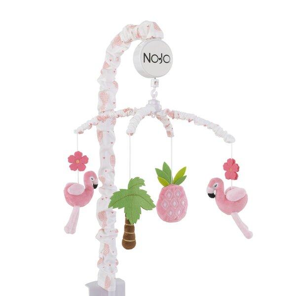 flamingo mobile Ballerina mobile hot air balloon mobile Bunny baby mobile girl Tropical mobile