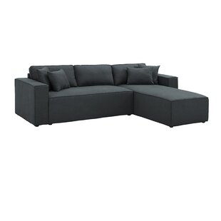 Inexpensive Rhymes Reversible Sectional by Williston Forge Reviews (2019) & Buyer's Guide