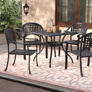 Desirae 5 Piece Conversation Set