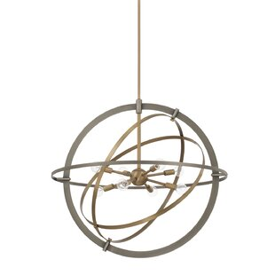 Wrought Studio 8-Light Globe Chandelier