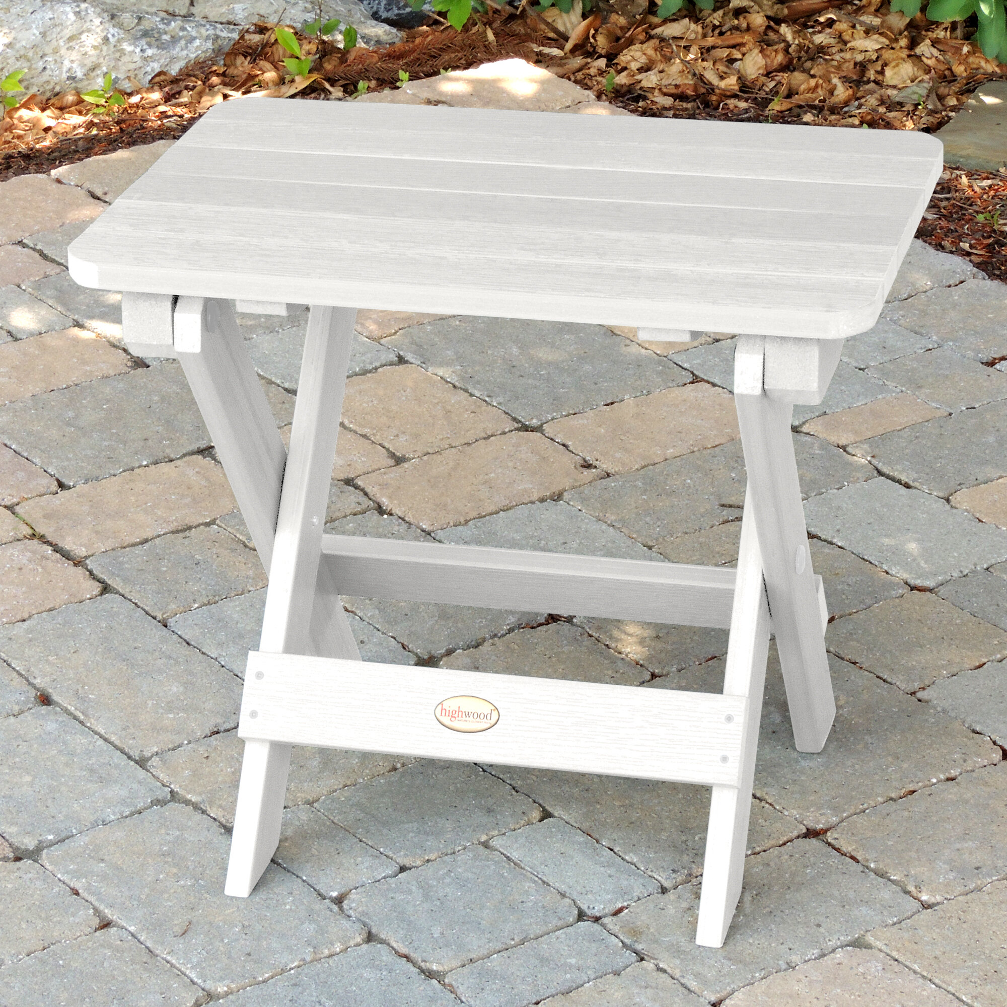 Anette Folding Plastic/Resin Side Table