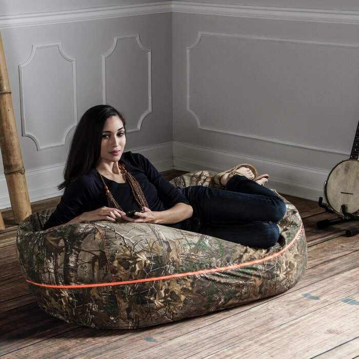 Stupendous Realtree Large Bean Bag Sofa Camellatalisay Diy Chair Ideas Camellatalisaycom