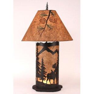 Graciela Moose Scene 33.5 Table Lamp