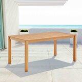 Koa Teak Dining Table