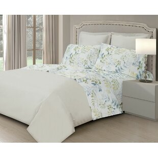 Edmund 400 Thread Count 100% Cotton Sheet Set By August Grove