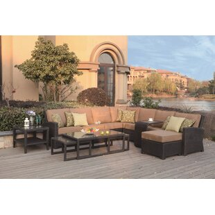 Alcott Hill Stockholm 11 Piece Sectional Set with Cushions