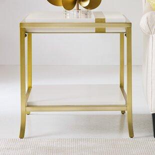 Cynthia Rowley Side Stripe End Table