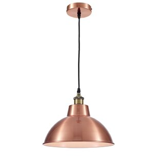 OHR Lighting Lammin Modern 1 Light Inverted Pendant