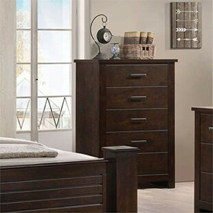 Mullis Wooden 5 Drawer Chest