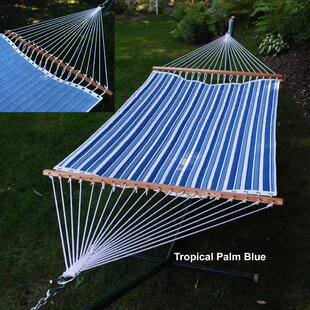 Reversible Quilted Polyester Tree Hammock