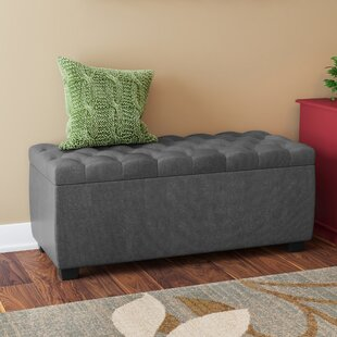 Three Posts Virgil Upholstered Storage Bench