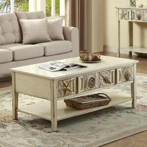 Jefferson Coffee Table by Rosecliff Heights