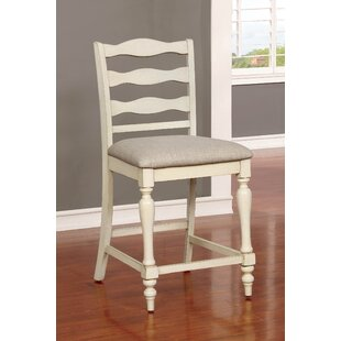 Buy clear Ashcraft 24.75 Bar Stool (Set of 2) by One Allium Way Reviews (2019) & Buyer's Guide