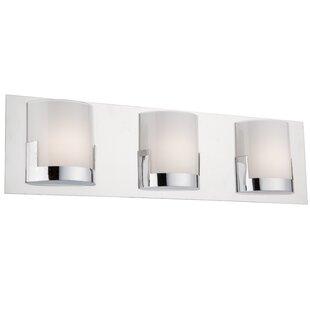 Order Spires 3-Light LED Bath Bar By Latitude Run
