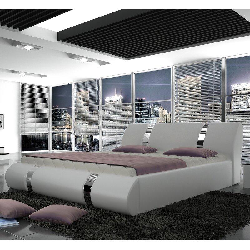 Duke European Kingsize Storage Platform Bed With Mattress