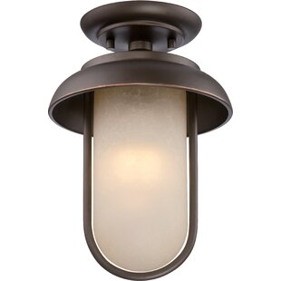 Reviews Bentleyville 1-Light Flush Mount By Gracie Oaks