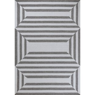 Hamptons Emerson Hand-Hooked Oatmeal Indoor/Outdoor Area Rug By Libby Langdon