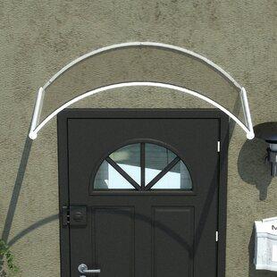 Palram Orion™ 4.5 ft. W x 3 ft. D Door Awning