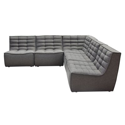 Marshall Symmetrical Modular Sectional Diamond Sofa