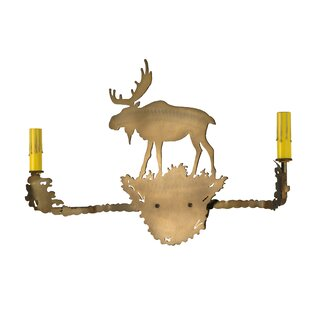 Meyda Tiffany Moose 2-Light Va..