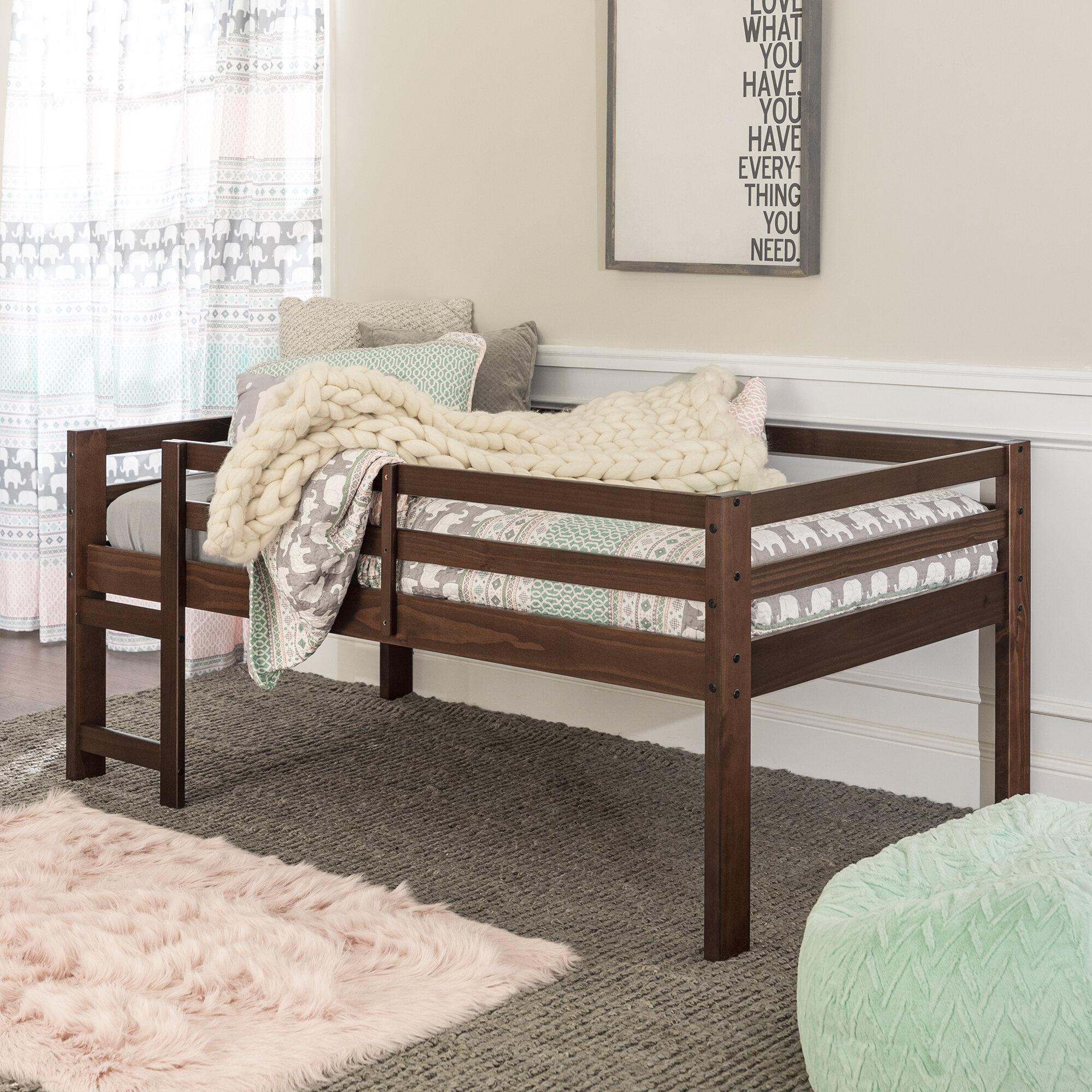 Harriet Bee Ranveer Twin Low Loft Bed Reviews Wayfair