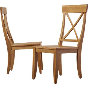 Gardner Solid Wood Dining Chair (Set of 2) by Au..