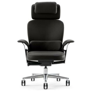 Leap? High-Back Leather Executive Chair by Steelcase