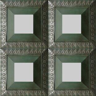 Cooper Classics Cyprus Wall Mirror (Set of 4)