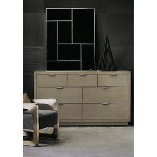 Mosaic 7 Drawer Dresser with Mirror