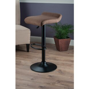 Varroville Adjustable Height Swivel Bar Stool Latitude Run