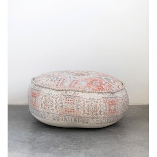 Sanchez Heavily Pouf by Bungalow Rose