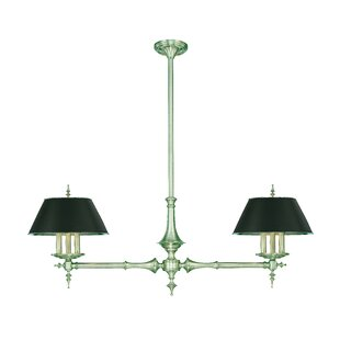 Everly Quinn Moura 6 Light Shaded Chandelier