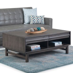 Read Reviews Bounds Coffee Table with Storage by Brayden Studio Reviews (2019) & Buyer's Guide