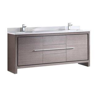 Allier 72 Double Bathroom Vanity Set by Fresca