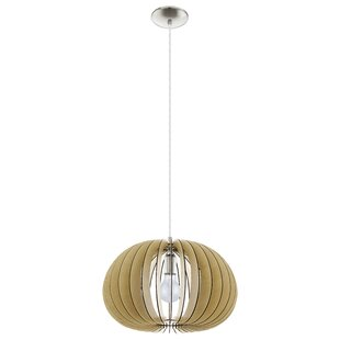 Waltham 1-Light Pendant by George Oliver