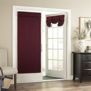 cantor collection solid room darkening tab top single curtain panel