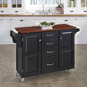 Adelle-a-Cart Kitchen Island by August Grove