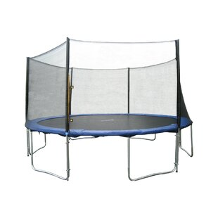 Newacme LLC 12' Round Trampoline with Safety Enclosure